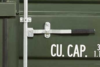 Shipping Container with easy opening door