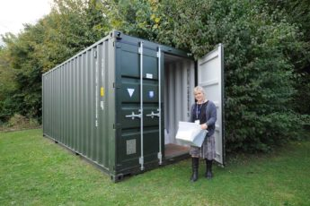 Temporary Storage Container for School