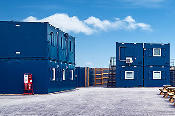 Portable Cabins and Containers for Large Construction Sites Projects