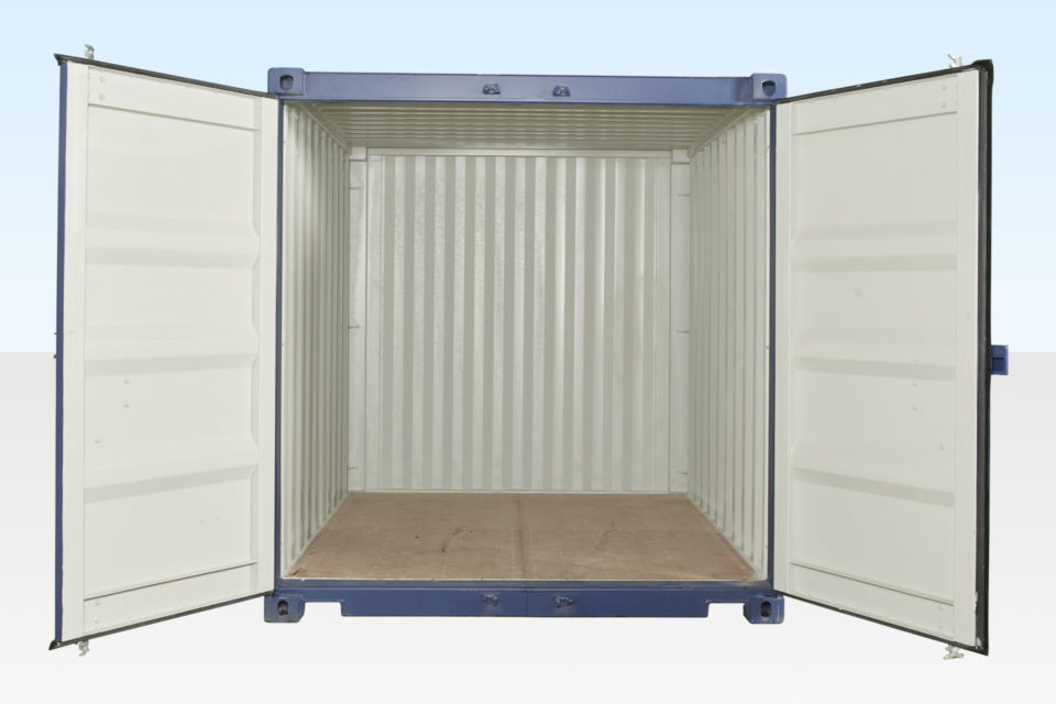 10ft Container for Hire. Doors Open.