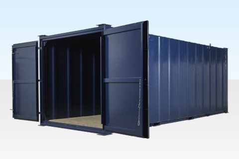 24ft Steel Store for Sale