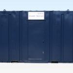 Steel Anti-Vandal 3+1 Site Toilet Cabin