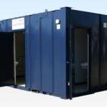 Hire Steel Toilet Cabin 3+1 16ft x 9ft
