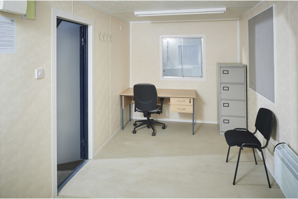Portable Office Cabin for Hire - Internal View (55)