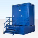Waste Tank for Double Site Toilet Cabin