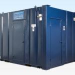 Steel Toilet 2+1 12ft x 9ft