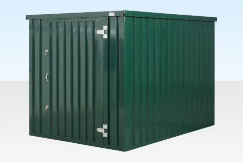 Flat Pack Storage Container. 3m x 3m Assembled.