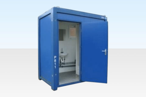 Steel Shower Cabin - 8ft - External View