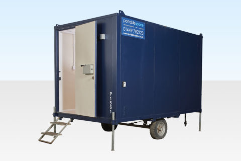 Towable Steel Office for Sale 12ft Mobile