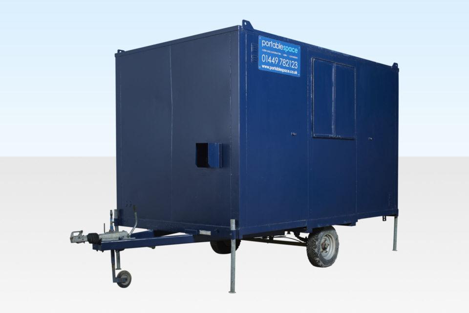 Towable Steel Canteen Cabin