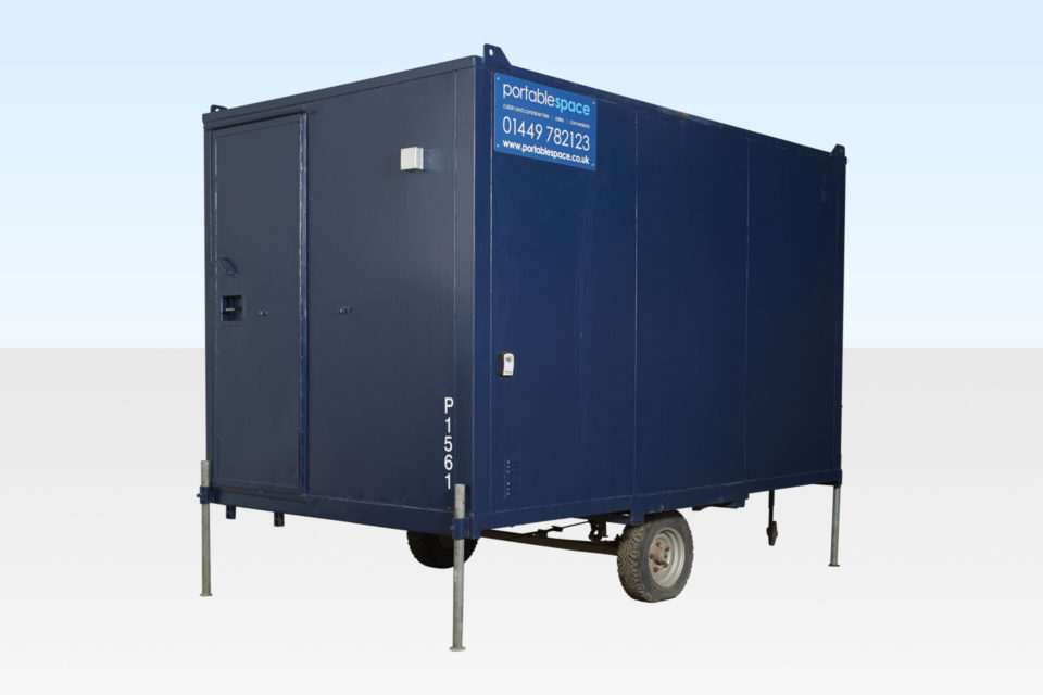 Hire a Steel Canteen 12ft Mobile