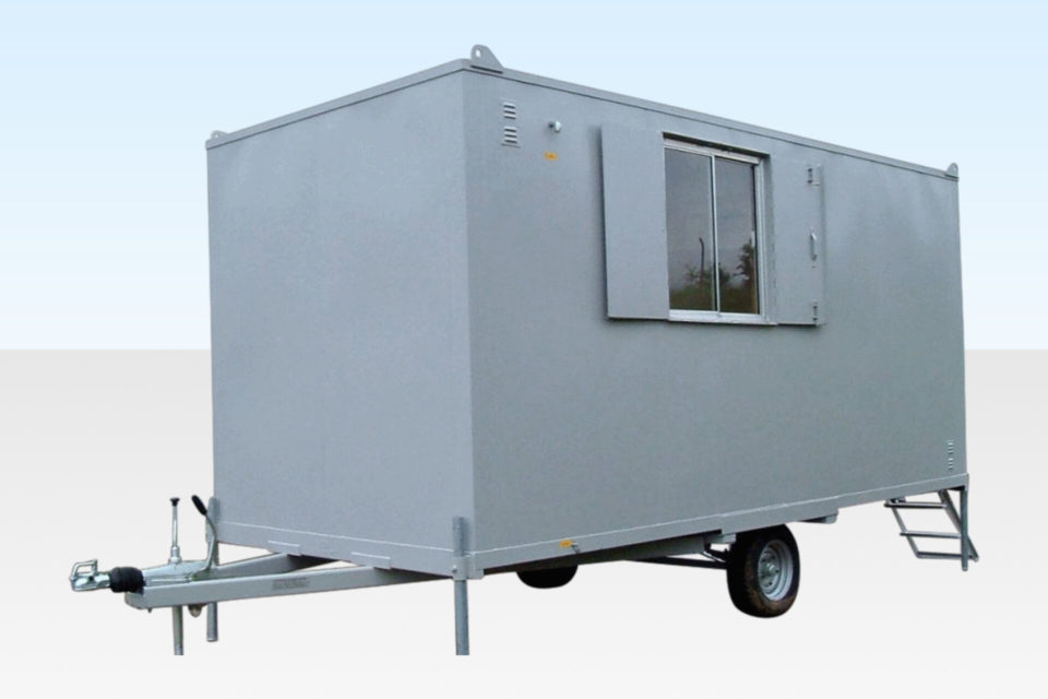 Hire a Mobile Anti-Vandal Office 16ft