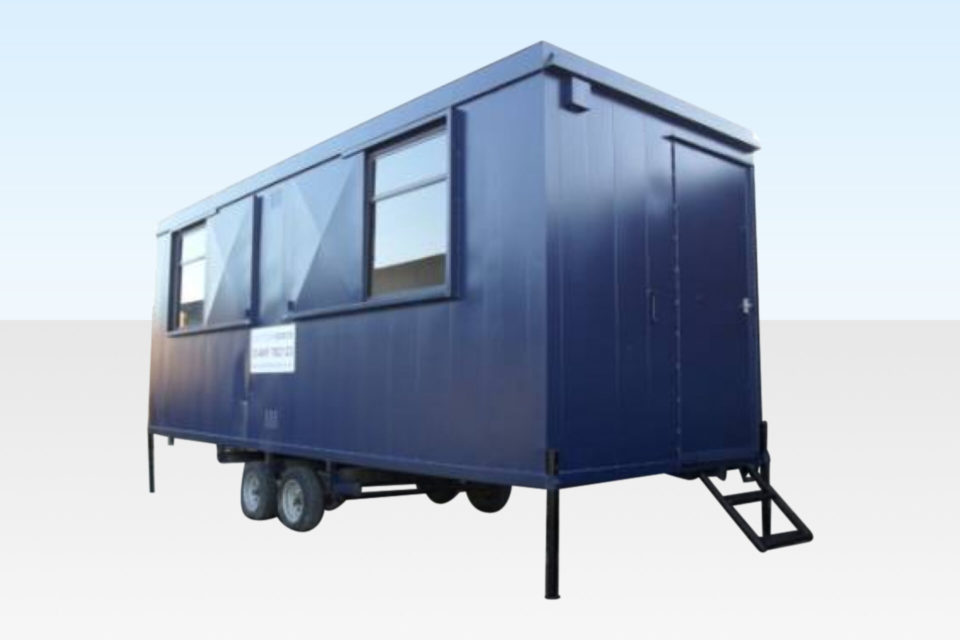 20ft Mobile Steel Cabin