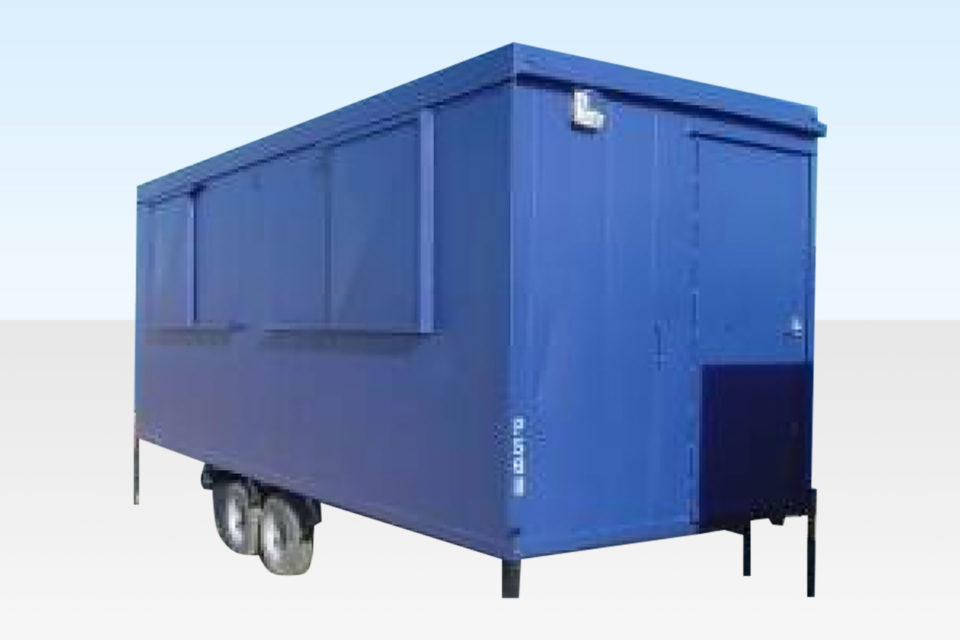 20ft Steel Mobile Anti Vandal Cabin