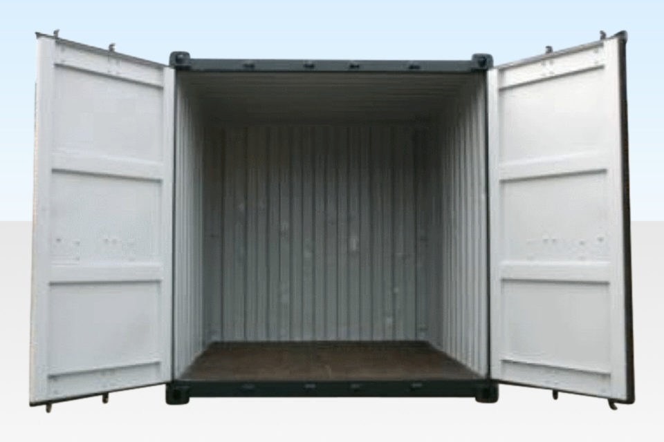 Internal View. 10ft Shipping Container