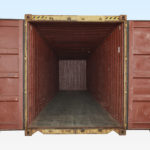 Internal View of Used High Cube Shipping Container