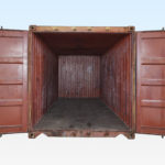 Internal View of a Used 20ft Container