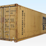Used 40ft Container - Doors Closed