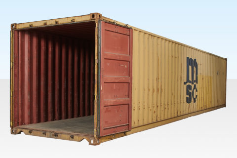 40ft Standard Used Shipping Container