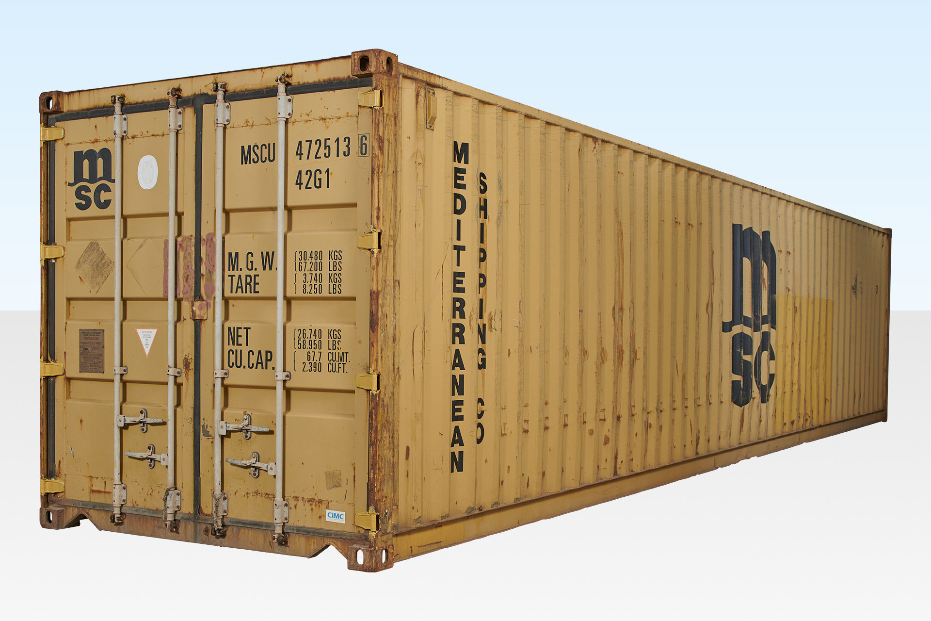 40ft Used Shipping Container - Excellent Condition £1000+VAT