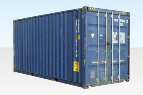 20ft Used High Cube Shipping Container for Sale.