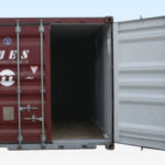 Inside View. 20ft Used Grade A Shipping Container