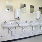 Steel Anti-Vandal Toilet Hire 4+1 (165)