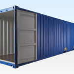 New 40ft Container - Doors Fully Open