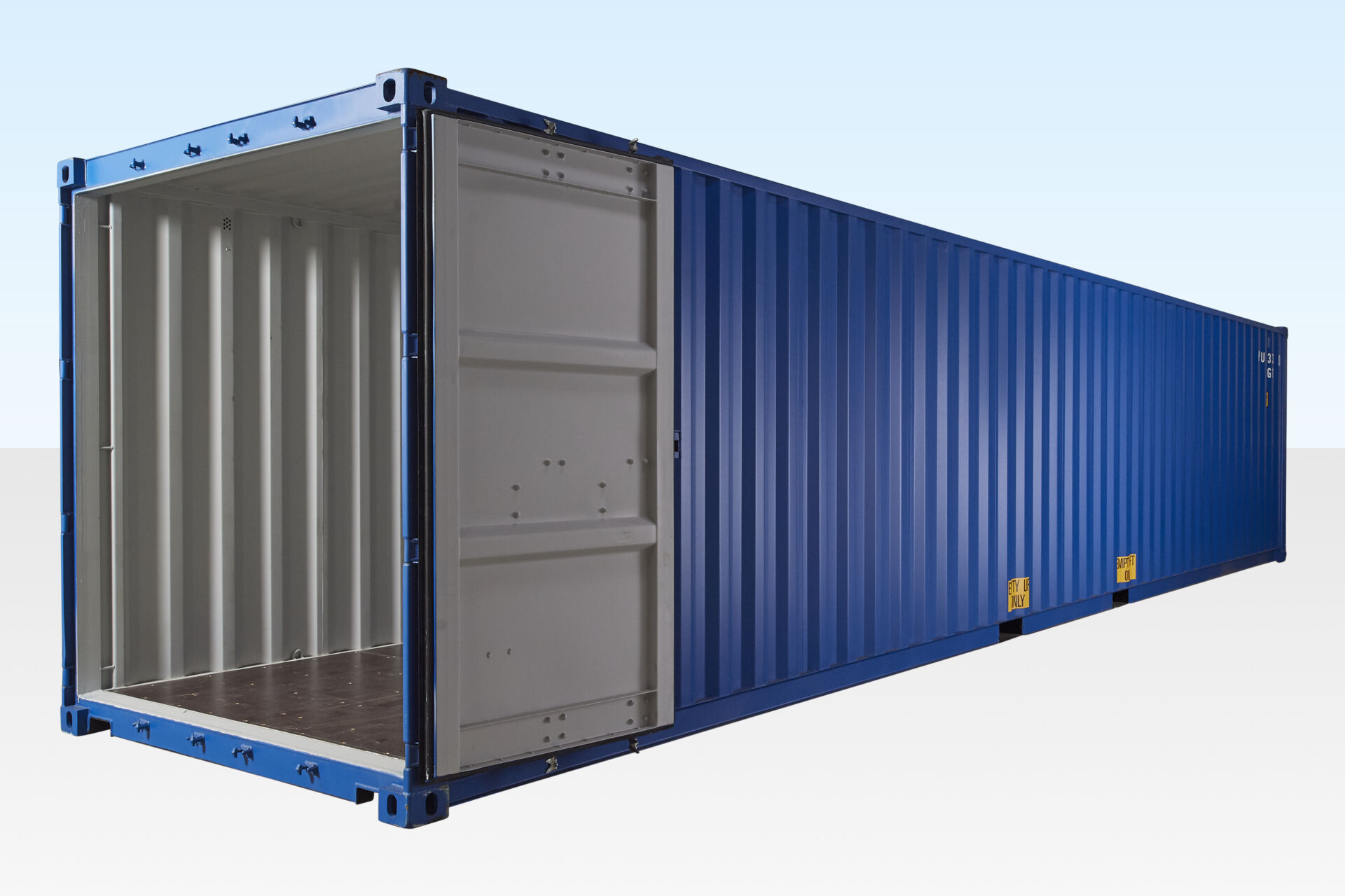 40ft Shipping Container Blue