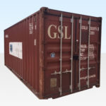 For Sale - 20ft Used Shipping Container. CSC Plated for Export