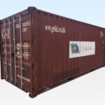Used 20ft Shipping Container. CSC Plated for Export Shipping