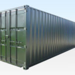 30ft Shipping Container. New. Dark Green.