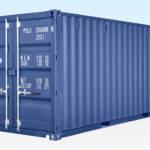 New 20ft Shipping Container for Sale - Dark Blue RAL5013