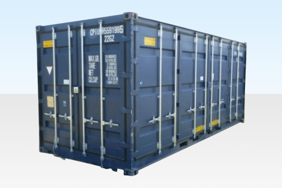 Open Sided Bunded Chemical Storage Container for Sale