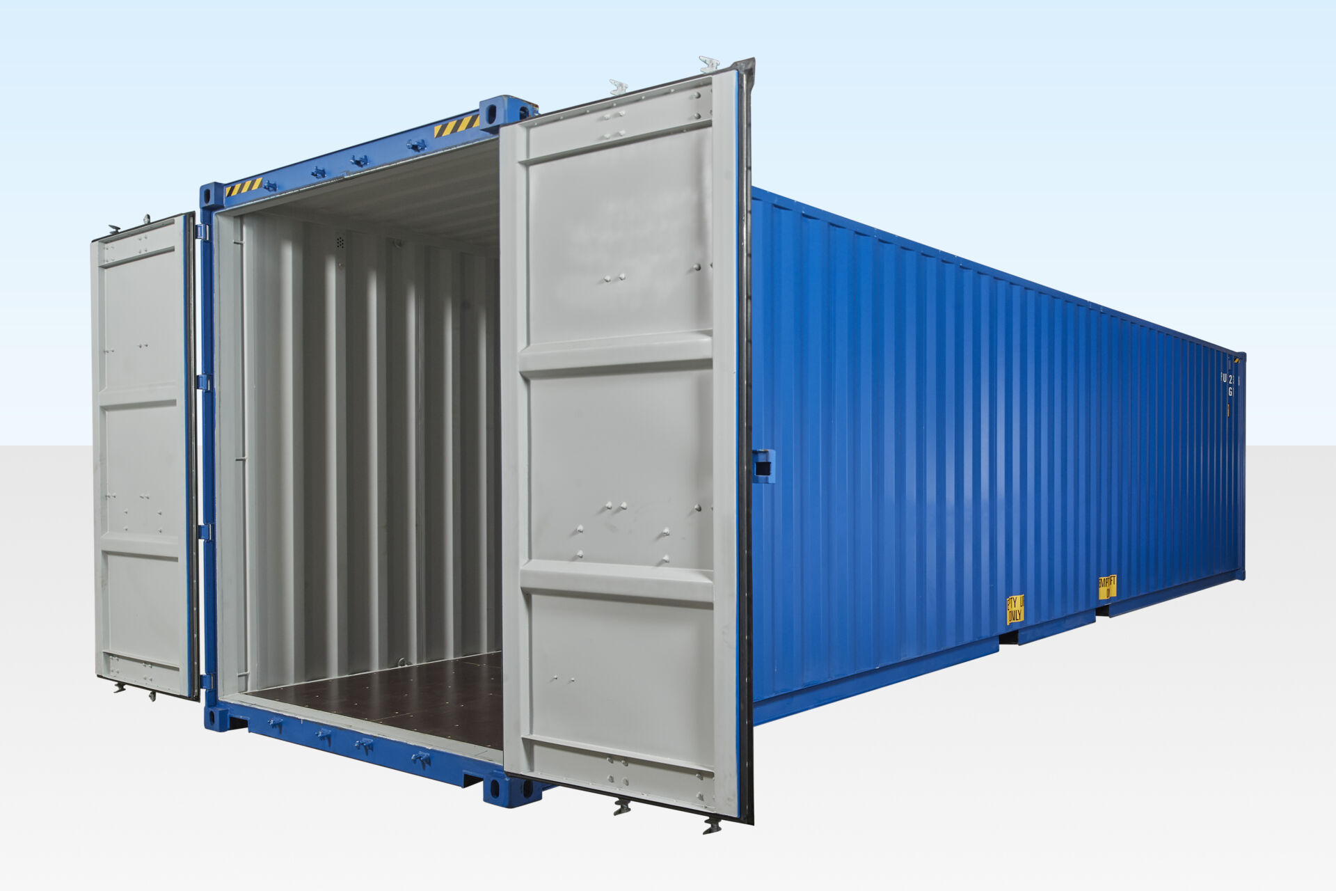 40ft High Cube Container - One Trip (9ft 6
