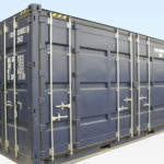 High Cube, Open Sided Shipping Container