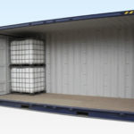 20ft High Cube, Open Side Shipping Container Suitable for IBC for Sale