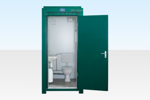 Single Mains Toilet for Sale (Green) RAL6005