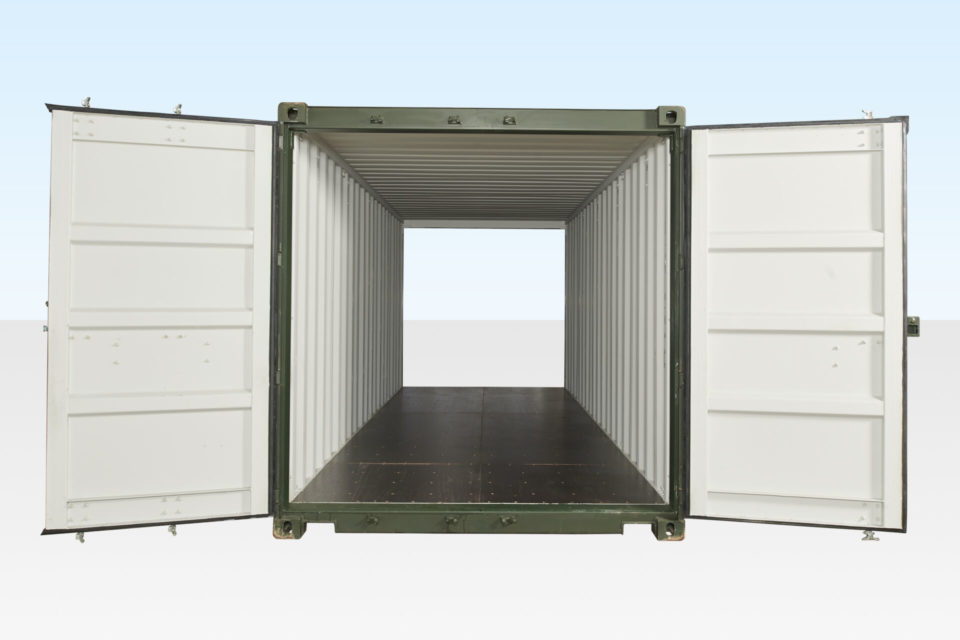 20ft Tunnel Container - Double End Doors - New.