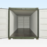 New 20ft Container with Doors at both Ends.