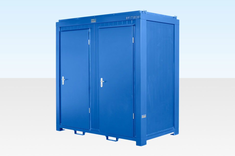 Site Toilets for Hire - Double
