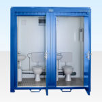 Hire Double Mains Toilet (RAL 5010)