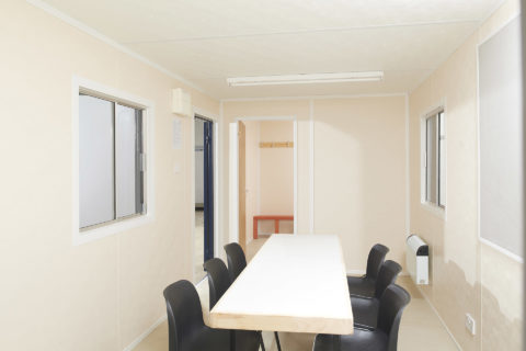 Steel Anti-Vandal Canteen & Drying Room for Sale