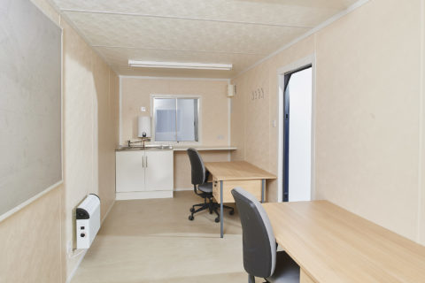 Portable Office / Canteen Cabin 20ft