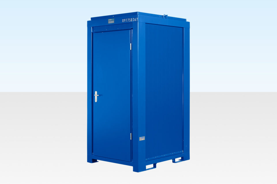 Mains Site Toilet - Exterior View