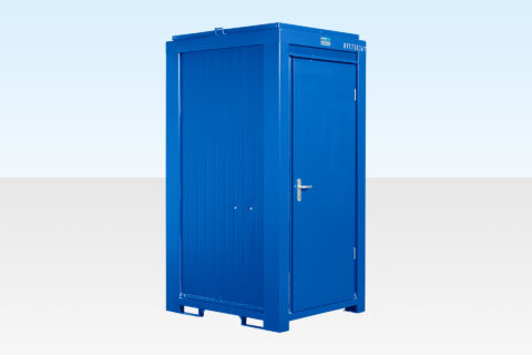 Single Mains Site Toilet for Sale