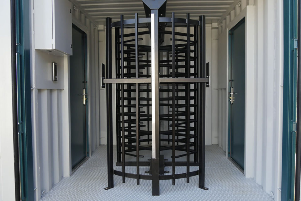 Double Turnstile for Hire - Internal View