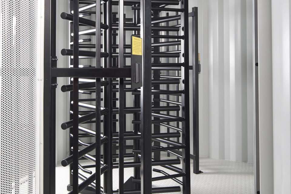 Turnstile for Hire - Internal View