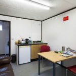 Kitchen / welfare area of jackleg cabin
