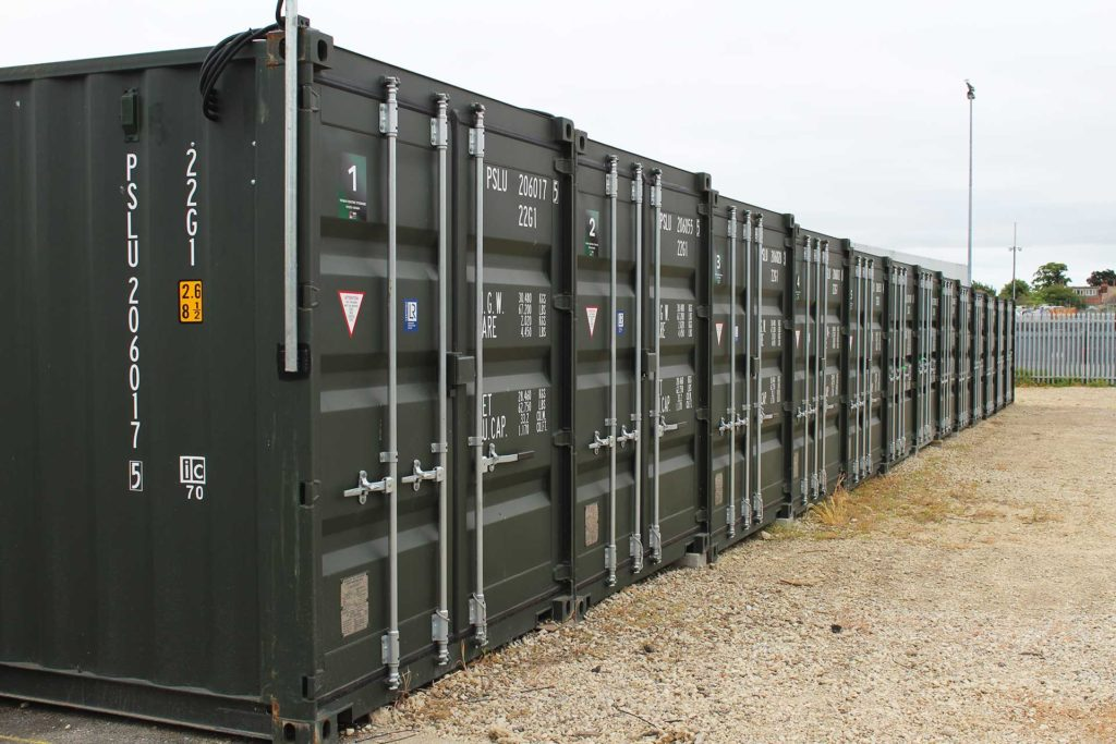 Supplying containers for a new self storage company